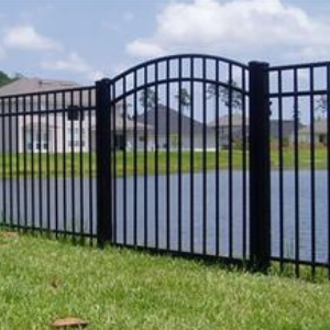 Aluminum Arched Top Gate in Tampa, Florida