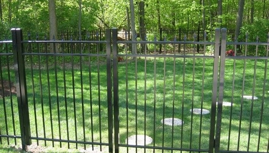 aluminum double entry gate Tampa